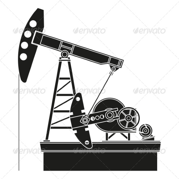 GraphicRiver Oil Pump 8436105