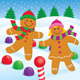 Gingerbread Boy and Girl in the Snow - GraphicRiver Item for Sale