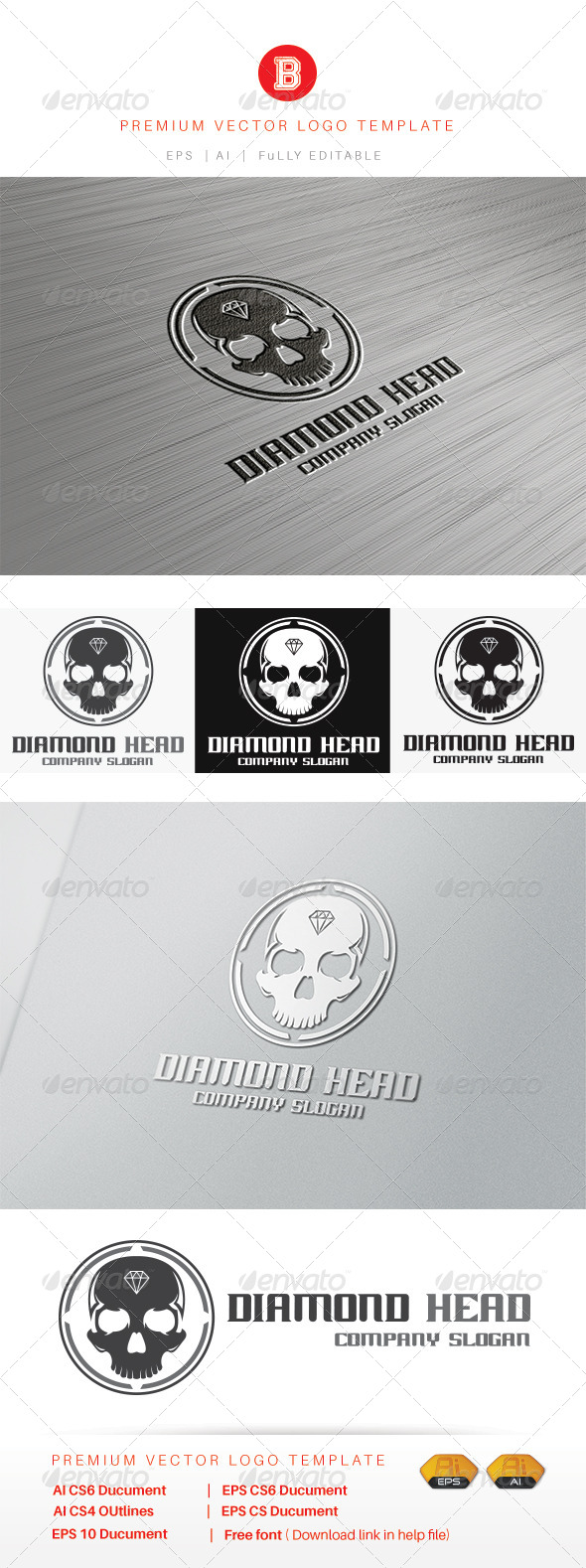 GraphicRiver Diamond Head 8436115