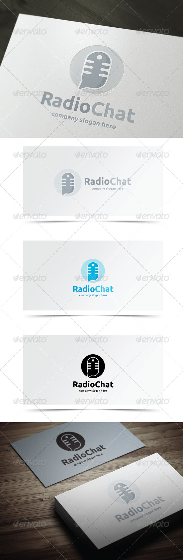 GraphicRiver Radio Chat 8436119