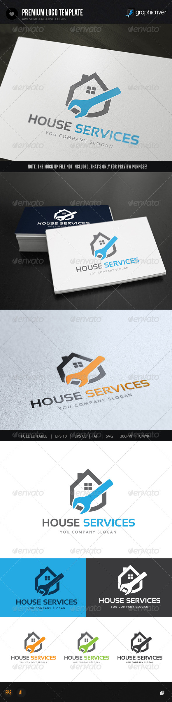 GraphicRiver House Services 8436239