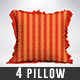 Pillow Mock-Ups Vol 2 - GraphicRiver Item for Sale