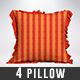 Pillow Mock-Ups Vol 2 - GraphicRiver Item for Sale