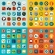 Set of Flat Icons - GraphicRiver Item for Sale