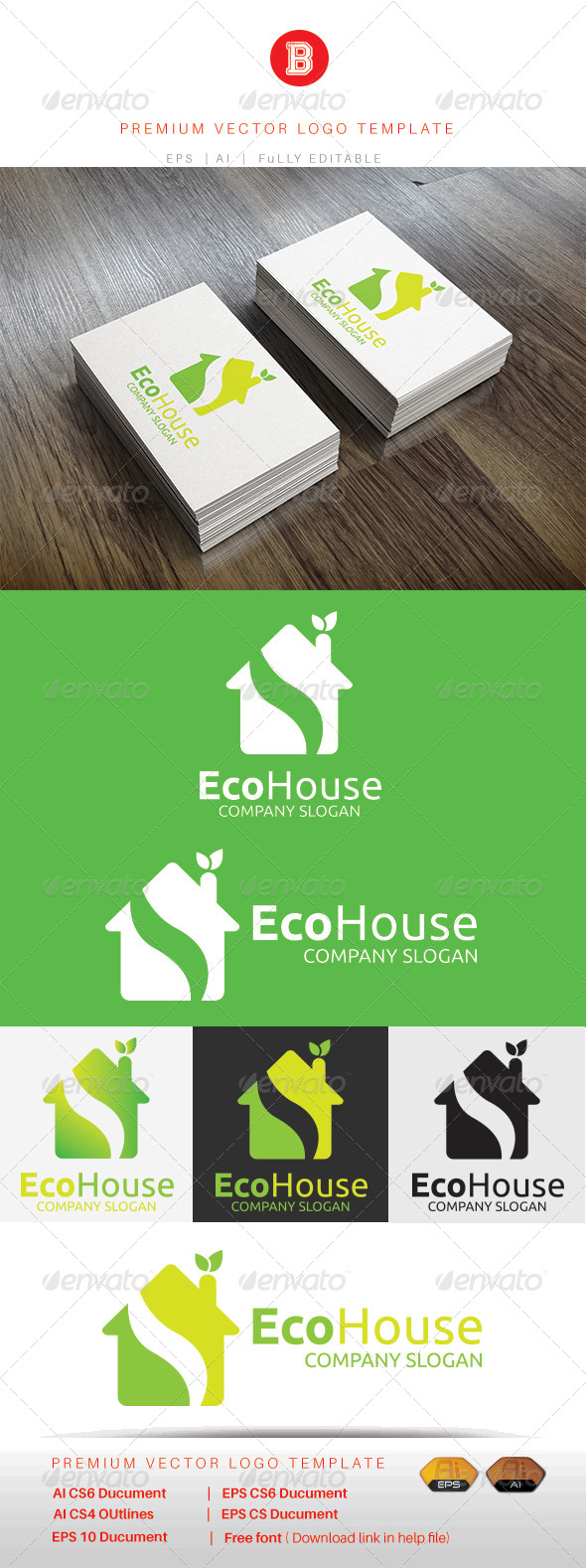 GraphicRiver Eco House 8436720