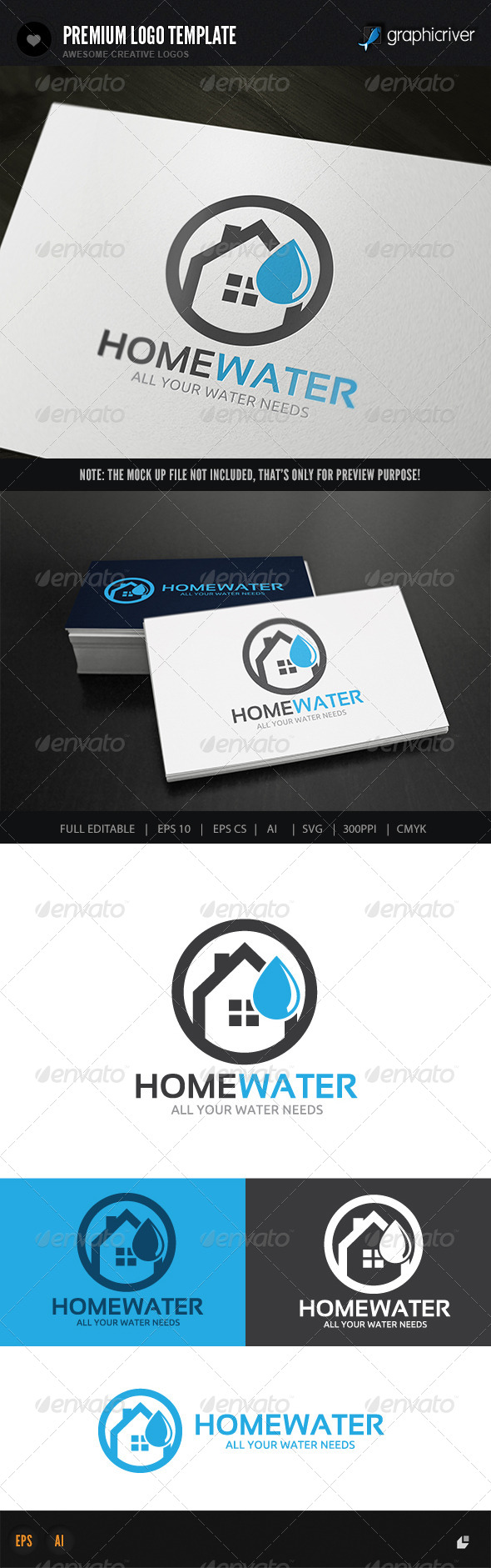 GraphicRiver Home Water Services 8436723