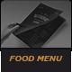 Elegant Food Menu 12 - GraphicRiver Item for Sale