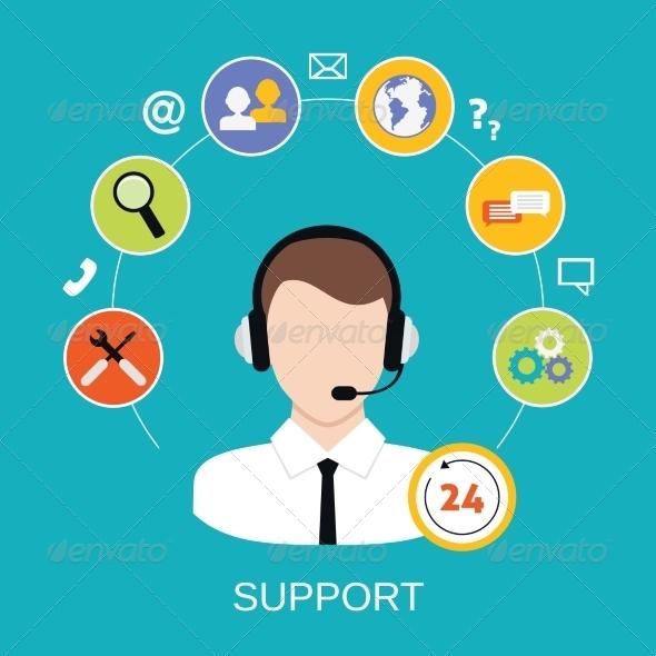GraphicRiver Customer Support Service 8436973