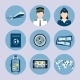 Airline Icons Set - GraphicRiver Item for Sale