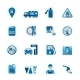 Set of Fuel Station Icon - GraphicRiver Item for Sale