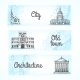 Set of Banners with Buildings - GraphicRiver Item for Sale