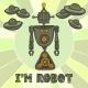 Hipster Robot Design - GraphicRiver Item for Sale