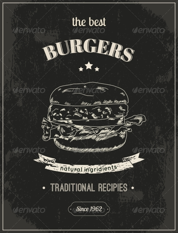 GraphicRiver Hamburger Poster 8437068