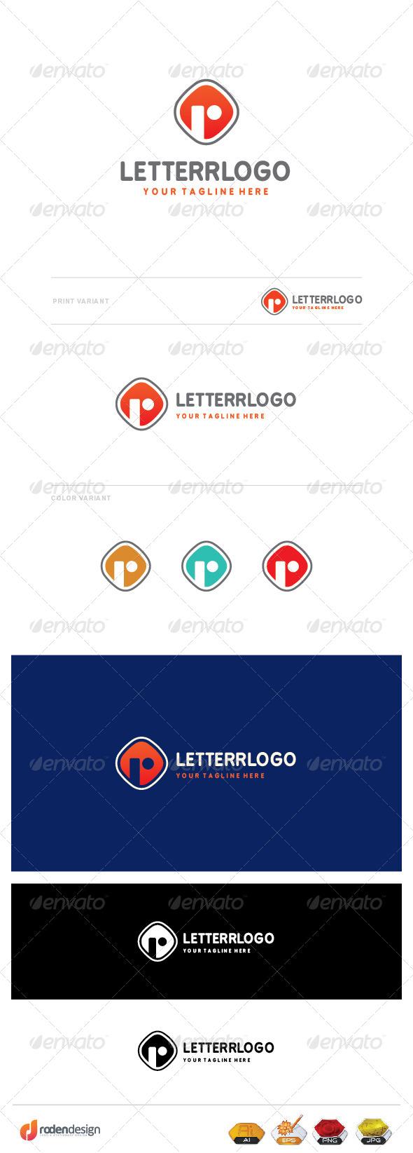 GraphicRiver R Letter Logo 8436146