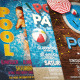 Pool Party Flyer Bundle