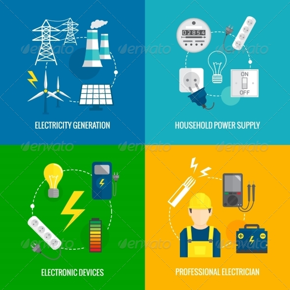 GraphicRiver Electricity Energy Concept 8437139