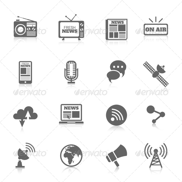 GraphicRiver Media Icons 8437143