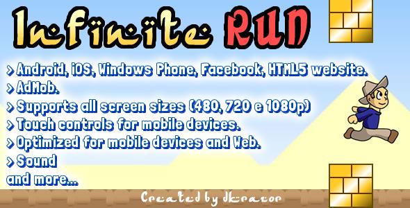 CodeCanyon Infinite Run Game Starter Kit 8353835