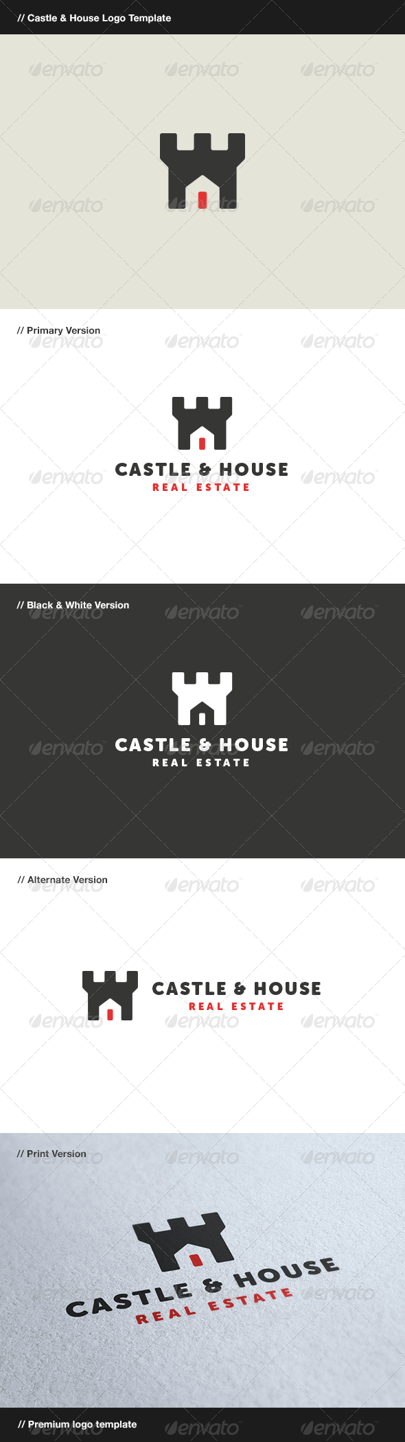 GraphicRiver Castle & House 8416222