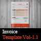Invoice Templates Vol-1.1 - GraphicRiver Item for Sale