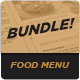 Food Menu Bundle 7 - GraphicRiver Item for Sale