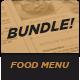 Food Menu Bundle 7 - GraphicRiver Item for Sale
