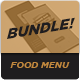 Food Menu Bundle 9 - GraphicRiver Item for Sale