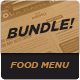 Food Menu Bundle 8 - GraphicRiver Item for Sale