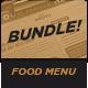 Food Menu Bundle 8 - GraphicRiver Item for Sale
