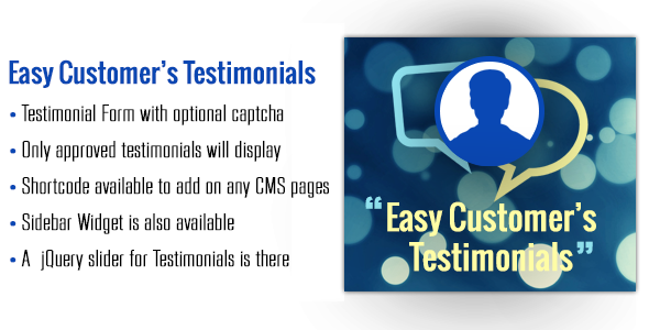 CodeCanyon Easy Customer`s Testimonial Magento Extension 8350904