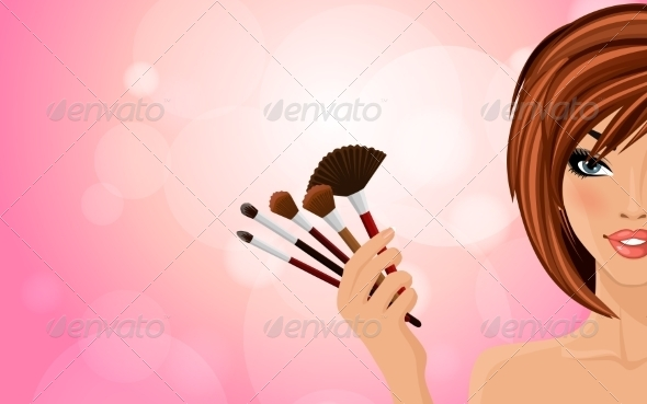 GraphicRiver Make Up Background 8437303