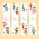 Set of Banners with Kids - GraphicRiver Item for Sale