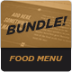 Food Menu Bundle 1 - GraphicRiver Item for Sale