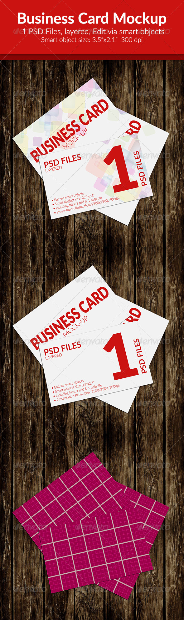 GraphicRiver Business Card Mock-Up SS-11 8438057