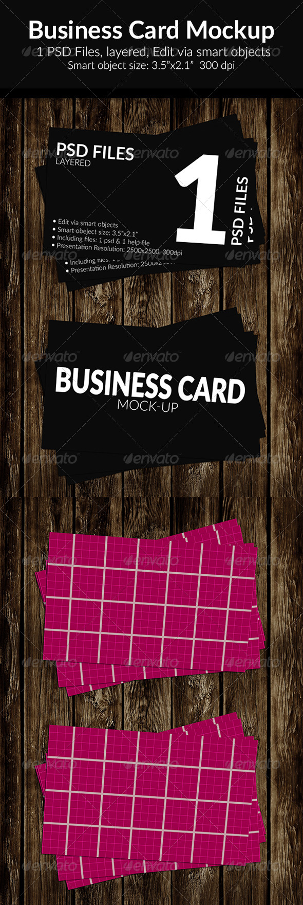 GraphicRiver Business Card Mock-Up SS-12 8438133