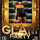 Glam Party PSD Template