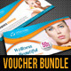 3 in 1 Beauty and Spa Gift Voucher Bundle 01 - GraphicRiver Item for Sale