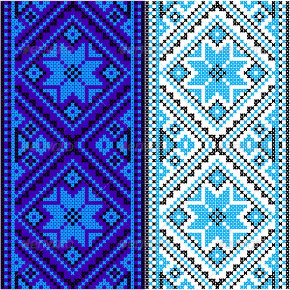 GraphicRiver Embroidery Ukrainian National Ornament 8438266