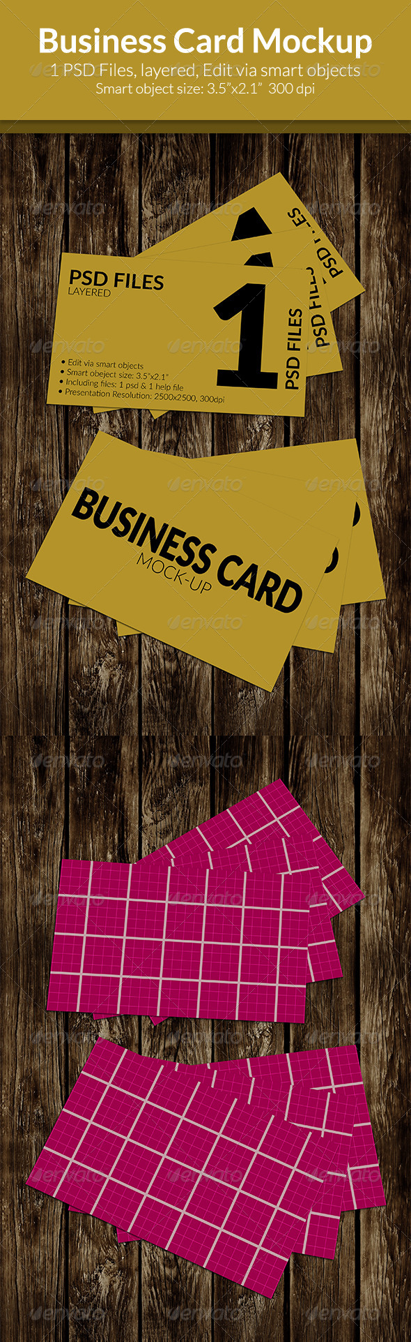 GraphicRiver Business Card Mock-Up SS-13 8438364