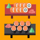 Flat Sushi and Japanese Food Set - GraphicRiver Item for Sale