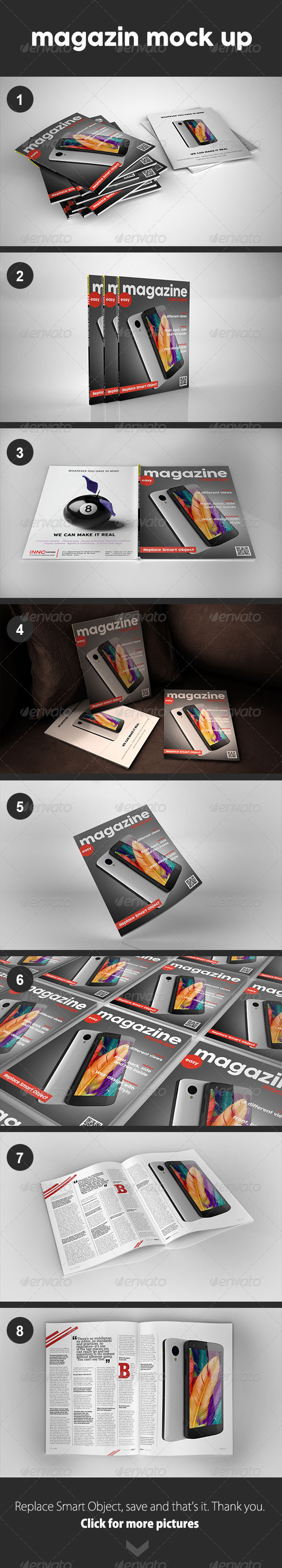 GraphicRiver Magazin Mock Up 8438526