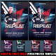 Guest DJ Party Ver.12 Flyer/Poster Template - GraphicRiver Item for Sale