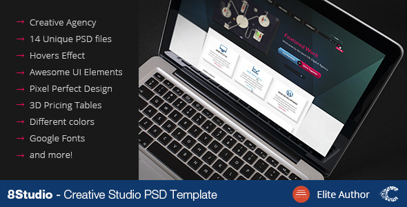 A Stunning Interactive Agency PSD - Creative PSD Templates