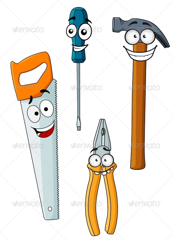 GraphicRiver Happy and Joyful Work Tools 8447098