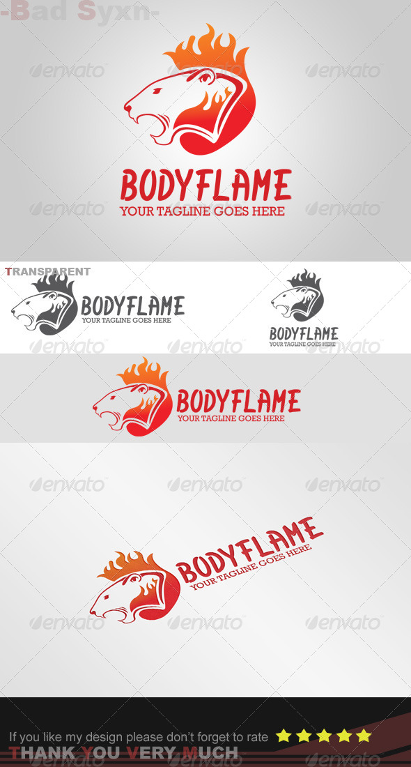GraphicRiver Bodyflame Logo Template 8447108