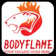 Bodyflame Logo Template - GraphicRiver Item for Sale