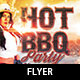 Hot Barbecue Party Flyer Template