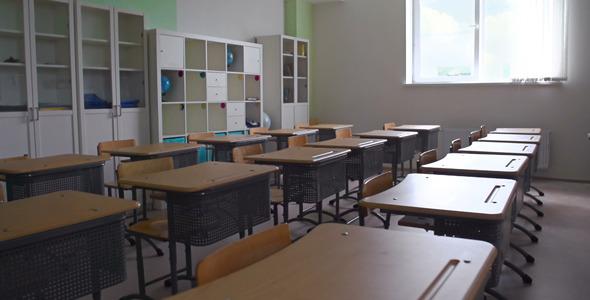 Abandoned Classroom