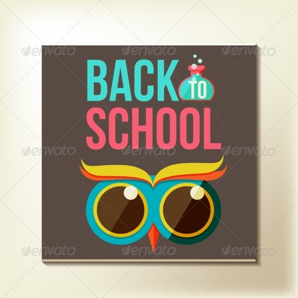 GraphicRiver Back to School Design Template 8447511