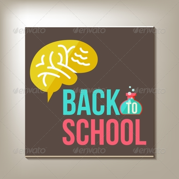GraphicRiver Back to School Design Template 8447513